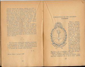 """Alcune pagine del libro """"Argentina 1948"""" di Folco Testena"""